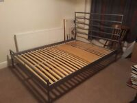 Double bed 140x200cm GREAT CONDITION (no mattress)
