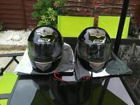 2 x box helmets size m