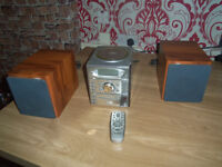 goodmans micro hifi system excellent condition with hand remote comes from a smoke free home
