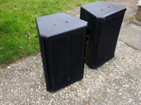 Pair Turbosound / JBL PA Speakers / Stage Monitors