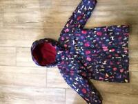 Joules Right as Rain Coat Age 3-4