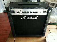 Marshall amp for guitar / Bass unused