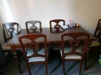 Table+6 chairs