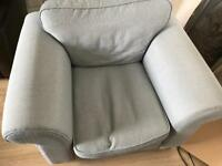 Sofa suite (2+1 and footstool)