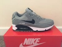 Nike air max 90's grey and black - brand new in box ( various sizes) LOOK
