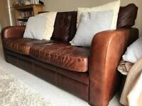 Leather Sofa and Chair Great Quality