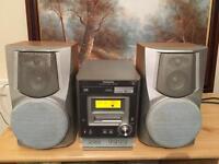 Panasonic CD player. Radio