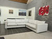 Stunning Sofology grey corner sofa