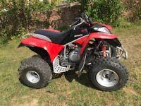 Suzuki quad bike 300cc atv big red honda