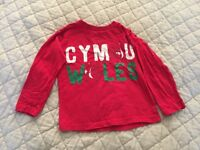 Kids Wales Top Size 5 Years