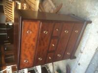 Stag Minstral Mahogany Chest of Drawers