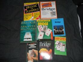 Set of Bridge & Card Playing Books