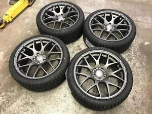 "18"" VMR Grey Wheels 5x114.3 and Winter tire Package 225/40R18 (Japanese Cars) Calgary Alberta Preview"
