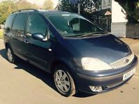 1 OWNER 06' FORD GALAXY ZETEC 1.9 TDDI ALLOYS 7 SEATER DIESEL FSH 19 DEALER STAMPS, TOW BAR, 130BHP
