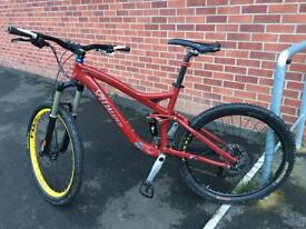 Specialized enduro full suspension bike