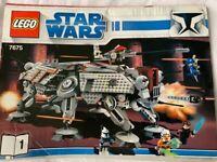 LEGO Star Wars 7675 AT-TE Walker 99% Complete
