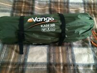Vango Blade 200 and Vango Ultralite 600