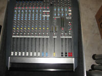 Allen and Heath 12 Channel Powered mixer plus Flightcase