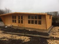 25x10 log cabin