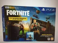 Brand New PS4 console - 500gb - 12 Month warranty - Fortnite Royal Bomber Outfit & 500 V-Bucks