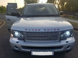 Range Rover, Sport 4.2, V8, Supercharged. Gas LPG Conversion, Silver. Great value for Spec.