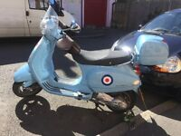 Vespa scooter in need of new owner,valid MOT and a fantastic run around!