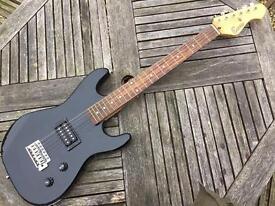 Child's Encore electric guitar.