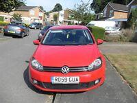DPF VW GOLF 2.0 TDI SE 5 DOOR HATCH 140 6 SPEED DIESEL 59 PLATE