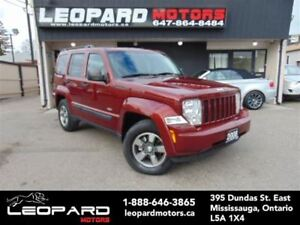 2008 Jeep Liberty Sport, Sunroof, Heated Seats, 4x4*No Accident*