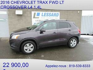 2016 CHEVROLET TRAX FWD LT CROSSOVER