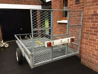 Trailer for sale; originally used for golf buggy.