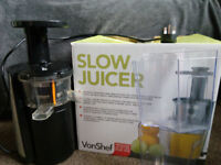 VonShef Slow Juicer 150W