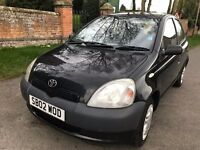 Toyota Yarris 1.0 5 door very good condition 2002 2 lady owners