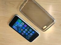 Iphone 5c, unlocked, Mint condition, white, Fully working.
