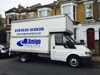 Amigo Removals Man & Van Services (luton Van wih Tail Lift)