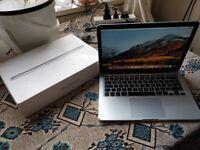 NEW OSX 10.13 HIGH SIERRA - LATE 2013 APPLE MACBOOK PRO 13 inch Retina Intel i5 4gb 128ssd laptop