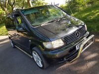 Mercedes V220 CDI Automatic ~ 7 Seater