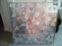 BRAND NEW ABSTRACT WALL HANGING FROM NEXT