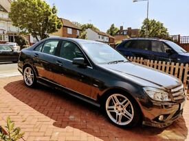 Mercedes Benz C Class Grey Colour Great Condition+ Full Service History