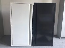2 Ikea metal cabinets for sale. £40 for both. Very good condition.