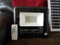 Solar Floodlight + 20w Solar Panel