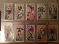 John Player & Sons - Footballers 1928 Collectors Cards - Full Set of 50