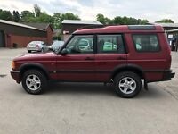 Land Rover Discovery series2 TD5 51 plate