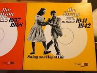 LP vinyl records swing era