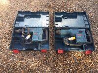 Bosch GBH 11 de & Bosch GSH 11 e breaker (like hilti,dewalt,makita,