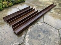 3 RSJ Beams for Sale - Only £120 for all (Used Condition)