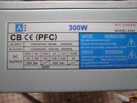 desktop computer power supply 300w
