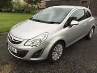 Vauxhall Corsa 2011 1.2 L Petrol, MOTed May 2017, service history, 90k miles, 2 keys, Alloys,leather