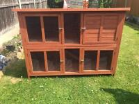 Pets at Home Bluebell Hideaway Hutch.