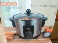 Cooks Professional 5 in 1 Multi Cooker